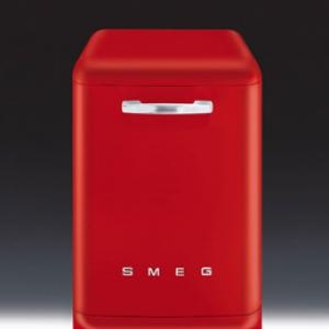 เครื่องล้างจาน SMEG รุ่น BLV2R-1 สีแดง