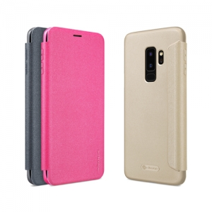 เคสมือถือ Samsung Galaxy S9+ (S9 Plus) รุ่น Sparkle Leather Case