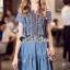 Dress งานสวยด้วยดีเทลงานปักลายสไตล์โบฮีเมียน thumbnail 5