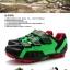 รองเท้าจักรยานเสือภูเขา TIEBAO รุ่น TB15-B943 สีเขียวดำแดง thumbnail 3