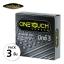 OneTouch Condoms Mixx 3 ถุงยางอนามัย วันทัช มิกซ์ 3 ผิวไม่เรียบ แบบปุ่มและขีด ผนังไม่ขนาน (บรรจุ 3 ชิ้น) - 52 มม. thumbnail 1