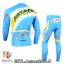 ชุดจักรยานแขนยาวทีม Astana 14 สีฟ้า สั่งจอง (Pre-order) thumbnail 2