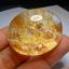 หายาก เม็ดโต แก้วเข้าแก้วสีทอง แท่งยากแปลก หายาก ขนาด 4.5*3.8 สะสม งามๆ thumbnail 4