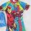ชุดว่ายน้ำบอดี้สูทลาย Ironman สีฟ้า ซิปหน้า พร้อมหมวกและ ถุงผ้า Size : XS (3-4y) / M (5-6y) / L (6-7y) / XL (7-8y) thumbnail 2