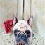 กระเป๋าสายโซ่ พิมพ์ลายหน้าหมา 3D thumbnail 2