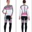 ชุดจักรยานผู้หญิงแขนยาวขายาว CheJi 15 (02) สีขาวลายดำชมพู thumbnail 15
