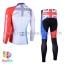 ชุดจักรยานแขนยาว Volegarb 16 (10) สีขาวแดงลายธงชาติอังกฤษ thumbnail 2