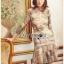 เดรสผ้าลูกไม้สีสดใสตกแต่งระบายและผ้าแถบลายทาง thumbnail 3