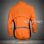 เสื้อคลุมจักรยานแขนยาว Le tour de france สีส้ม thumbnail 2