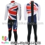 ชุดจักรยานแขนยาวทีม Sky 14 สีธงชาติอังกฤษ สั่งจอง (Pre-order) thumbnail 3