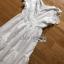 เดรสยาวผ้าคอตตอนสีขาวปักและฉลุลายดอกไม้ thumbnail 17
