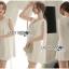 เคปเดรสผ้าเครปสีขาวสไตล์มินิมัลชิด thumbnail 4
