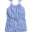 H&M : จั๊มสูทสายเดี่ยวสีน้ำเงิน เนื้อผ้านิ่มค่ะ ยืด ใส่สบาย size 6-8y thumbnail 1