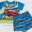 Disney : ชุดเสื้อ+กางเกงขาสั้น ลาย คาร์ size : 12m / 18m thumbnail 1