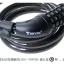 สายล็อกจักรยาน แบบรหัส 5 หลัก รุ่น TY566 ตั้งรหัสได้ สีดำ thumbnail 8