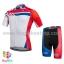 ชุดจักรยานแขนสั้น Volegarb 16 (10) สีขาวแดงลายธงชาติอังกฤษ thumbnail 1