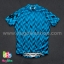 เสื้อจักรยานแขนสั้นทีม TWINSIX 16 (26) สีฟ้าลาย