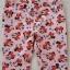 H&M : กางเกงขายาว สีชมพู ลายมินนี่เมาส์ โบว์สีแดง size : size : 2 (2-3y) / 4 (4-5y) / 8 (6-8y) thumbnail 2