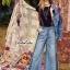 กางเกงยีนส์ ผ้าฟอก ทรงสวย thumbnail 3