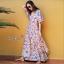 Maxi Dress ทรงสวยคอวีหน้า thumbnail 1