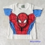 เสื้อ สกรีนลาย spiderman สีขาว (ตรงหน้า นูนขึ้นมา) size 90 thumbnail 1