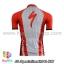เสื้อจักรยานแขนสั้นทีม Specialized 13 สีแดงขาว สั่งจอง (Pre-order) thumbnail 2