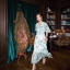 Maxi Dress สุดเก๋ทรงคอvมีพู่ห้อยผูกโบว์ thumbnail 4