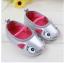 รองเท้าเด็กเล็ก หน้าแมวสีเทาเงิน thumbnail 1