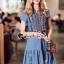 Dress งานสวยด้วยดีเทลงานปักลายสไตล์โบฮีเมียน thumbnail 6