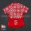 เสื้อจักรยานแขนสั้นทีม TWINSIX 16 (24) สีแดงขาว สั่งจอง (Pre-order) thumbnail 2