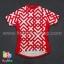 เสื้อจักรยานแขนสั้นทีม TWINSIX 16 (24) สีแดงขาว สั่งจอง (Pre-order) thumbnail 1