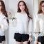 เสื้อผ้าลูกไม้สีขาวสไตล์คลาสสิกสุดหวาน thumbnail 5