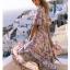 Maxi Dress ทรงสวยคอวีหน้า thumbnail 4