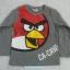 H&M : เสื้อยืดแขนยาวสกรีนลาย Angry Bird สีเทา size : 2-4y thumbnail 1