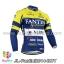 เสื้อจักรยานแขนยาวทีม Fantini 14 สีน้ำเงินเหลือง thumbnail 1