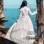 Maxi Dress ลูกไม้ สีขาว thumbnail 7