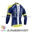 เสื้อจักรยานแขนยาวทีม Fantini 14 สีน้ำเงินเหลือง thumbnail 2