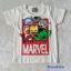 เสื้อ Marvel สีขาว (ตัว Iron man นูนขึ้นมา ) size : 90 / 120 thumbnail 1