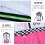 ชุดจักรยานผู้หญิงแขนยาวขายาว CheJi 15 (02) สีขาวลายดำชมพู thumbnail 17