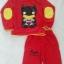 Set เสื้อแขนยาว + กางเกงขายาว สกรีนลาย Batman สีแดง Size : 2y / 5y thumbnail 2