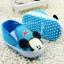**Disney** Pre walker shoe มิกกี่เมาส์สีฟ้า thumbnail 1