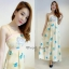 Pastel Cloudy Pony Maxi Dress thumbnail 3