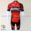 ชุดจักรยานแขนสั้นทีม BMC 15 (02) สีแดงดำ สั่งจอง (Pre-order) thumbnail 4
