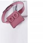 กระเป๋าคาดเอวหนัง PU Premium รุ่น Deon belt Baby Pink