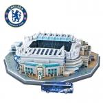 โมเดลสนามฟุตบอล ทีมเชลซี(Stamford Bridge) แสตมฟอร์ด บริดจ์ ขนาด กว้าง 30 cm x ยาว 39 cm x สูง 10 cm