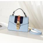 กระเป๋าหนัง Sylvie leather mini bag (Blue)