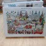 Jigsaw 1000 Pcs. ภาพต่อจิ๊กซอว์ รูปภาพวิว น้ำตก ขนาดภาพ 75x50 ซม. No.A9035