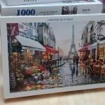 Jigsaw 1000 Pcs. ภาพต่อจิ๊กซอว์ รูปภาพวิว น้ำตก ขนาดภาพ 75x50 ซม. No.A9037