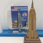 Empire State Super 3D puzzle DIY for Education โมเดล 3 มิติ