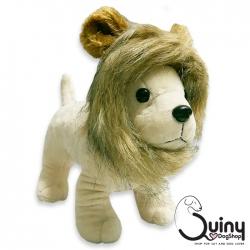 หมวกแมว สิงโต สีน้ำตาลอ่อน